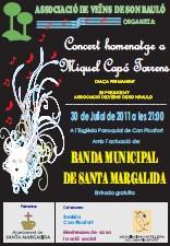 Concert Homenatge a Miquel Capo Torrents